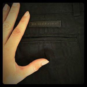 Burberry black pants size 2